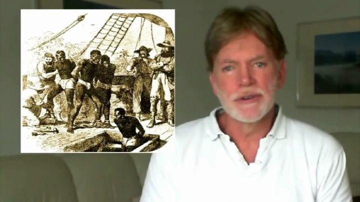 Дюк Дэвид. Роль евреев в работорговле