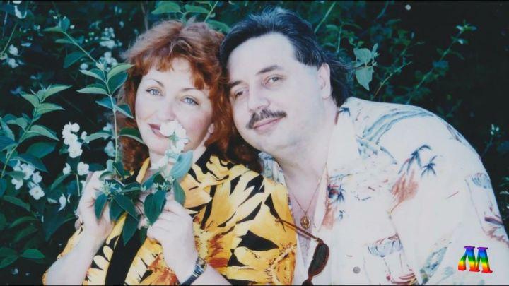 Из архива семьи Левашовых. Николай и Светлана
